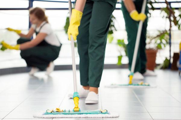 Limpieza integral después de una obra